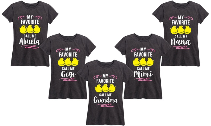f12e03b7 Up To 49% Off on Women's Easter Grandma Tee | Groupon Goods