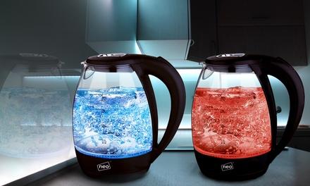 Cordless Illuminated Glass Kettle