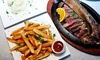Up to 49% Off a 4-Course Dinner at Talia's Steakhouse & Bar