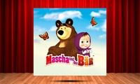 2 Tickets für Mascha und der Bär in 22 Städten, u. a. Hamburg, Frankfurt, Gießen, Düsseldorf, Stuttgart (bis 30% sparen)