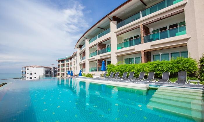 Tropical Island Beach Ambience Sound: KC Resort & Over Water Villas - Koh Samui