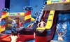 Pump It Up - Ventura: Three Pop-In Play or Family Fun Night Bounce-House Admissions at Pump It Up (52% Off)