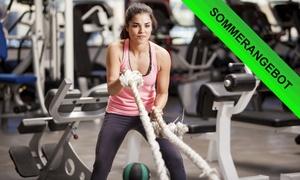 Fitnesslounge: 3, 6 oder 12 Monate Training inkl. Womenlounge, Sauna, Getränkeflat in der Fitnesslounge (bis zu 66% sparen*)