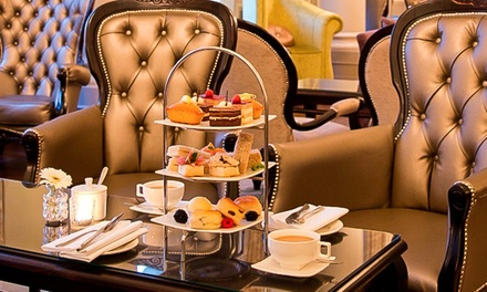 Champagne Afternoon Tea for Two at The Grosvenor Arms at The Grosvenor Hotel (Up to 62% Off)