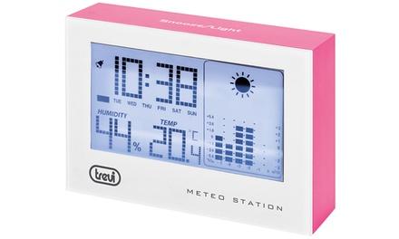 Mini stazione meteo Trevi ME 3103 con orologio