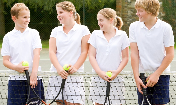 Charlotte City Tennis - Multiple Locations: $85 for One Week of Half-Day Junior Tennis Camp at Charlotte City Tennis ($150 Value)