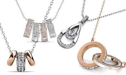 0fb36009ca16 1 o 2 collares decorados con cristales de Swarovski®