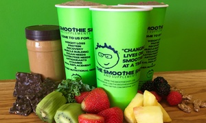 Smoothies from The Smoothie Shop (Up to 50% Off)