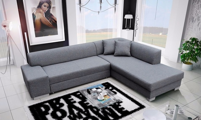 xxl ecksofa mit liegefunktion groupon goods. Black Bedroom Furniture Sets. Home Design Ideas
