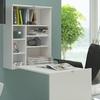 Klapp-Schreibtisch mit Regal