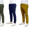 Galaxy by Harvic Men's Slim-Fit Twill Joggers