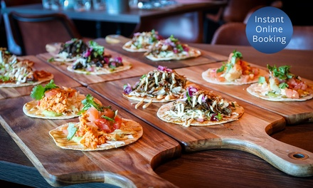 AYCE Tacos: 1 ($25), 2 ($49), 4 ($96), 8 ($190) or 10 People ($233) at Contrabando, Sydney CBD (Up to $560 Value)