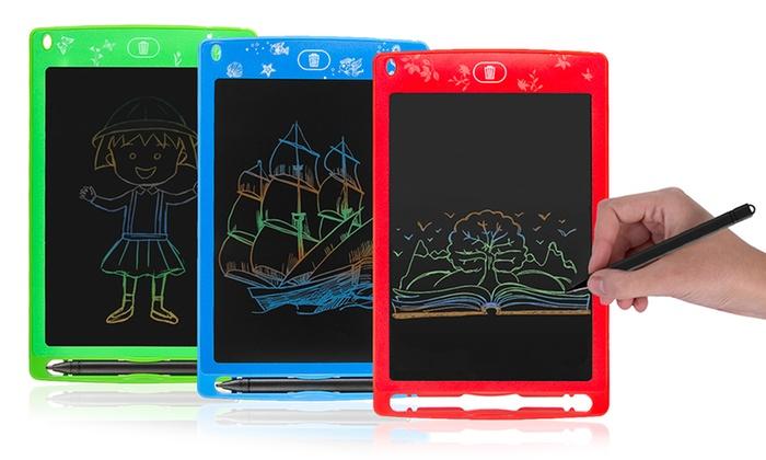 TitoloTablet digitale per scrivere e disegnare disponibile in 3 colori