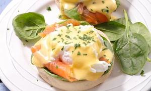 Kentro: All-Day Breakfast + Freshly Squeezed Juice for Two ($28) or Four People ($54) at Kentro (Up to $111.20 Value)