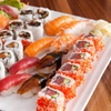 Sushi box d'asporto con 50 o 100 pezzi