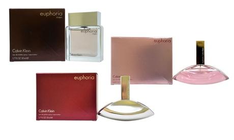 Calvin Klein Euphoria Fragrances for Men or Women (1.7 or 3.4 Fl. Oz.)