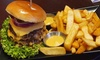 American-Burger + Beilage/Getränk