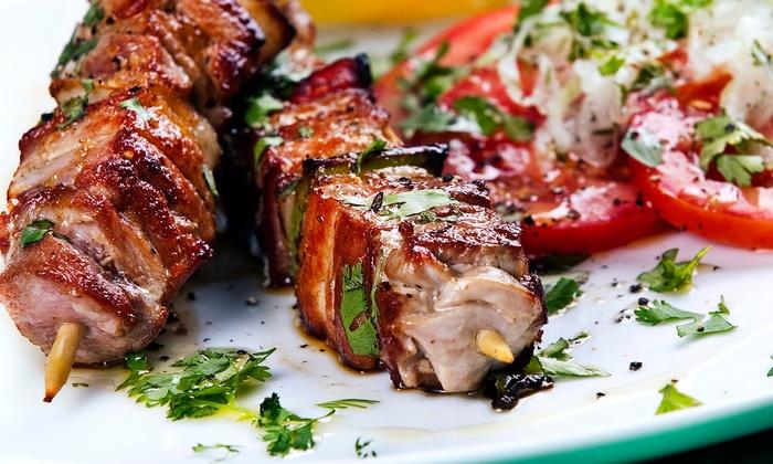 Zem Han Mediterranean Restaurant - Northborough: Prix Fixe Mediterranean Dinner or Lunch for Two at Zem Han Mediterranean Restaurant (Up to 46% Off)