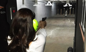Wilshire Gun Range: Range Package for Two with Optional Ammunition, Appetizer, and Drinks at Wilshire Gun Range (Up to 64% Off)