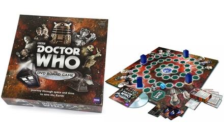 Bordspel Dr Who met dvd, speciale editie vanwege de 50ste verjaardag van Paul Lamond