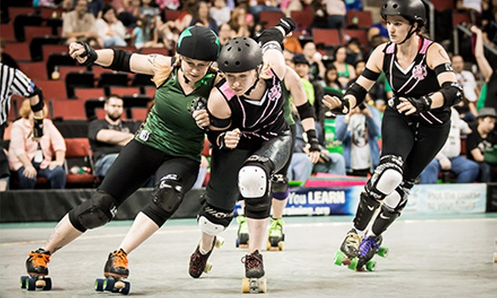 Rat City Roller Girls - Key Arena: Rat City Roller Girls Roller-Derby Event at KeyArena on Saturday, August 10 (Up to 59% Off). Four Options Available.
