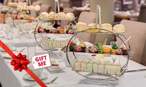 Straits Cafe: Afternoon High Tea with Sparkling Wine for Two ($59) or Four People ($109) at Straits Cafe (Up to $236 Value)