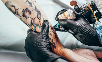 image for 60-Minute Tattoo Time and 30-Minute Consultation at Tattoo Gem (51% Off)