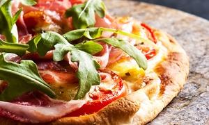 Pizza Dj: Menu pizza a scelta da asporto o a domicilio con sfizioserie e bevande da Pizza Dj (sconto fino a 57%)
