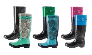 Oakiwear Monumenta Women's Knee-High Rain Boots