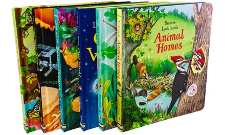 Usborne Look Inside Six-Book Collection