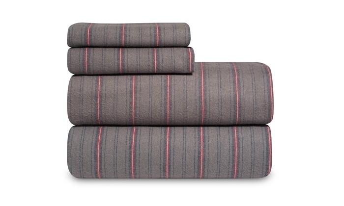 Martex Flannel Sheet Sets Groupon Goods