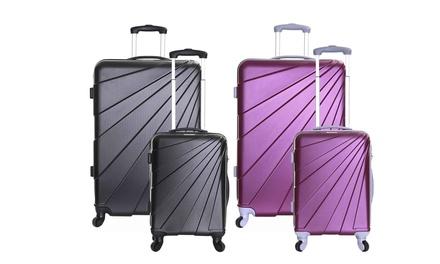 Slimbridge Fusion 55cm, 76cm or Set of Both Hard Suitcase