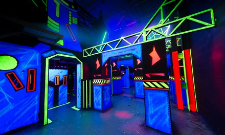Trampoline Sessions and Laser Tag for 2, 4, or 6 at Springz and Zap Zone - Farmington (Up to 40% Off)
