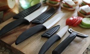 World Class Ceramic Knife Set Groupon Goods
