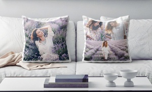 Photo Gifts: Glossy or Matt Photo Cushion from Photo Gifts (Up to 71% Off)