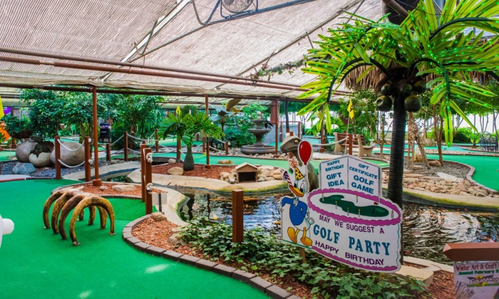 Colasantis Tropical Garden - Kingsville: One Round of Mini-Golf for Four or Six with Activity Tokens at Colasanti's Tropical Garden (Up to 48% Off)