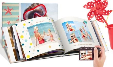 Hardcover Fotobuch im Format nach Wahl mit bis zu 100 Seiten bei Printerpix (bis zu 89% sparen*)