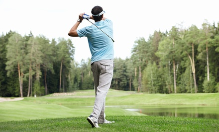 One 9-Hole Round of Golf for Two or Four at Castlemore Golf and Country Club (Up to 51% Off)
