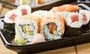 Sushi Artist - Sushi Artist: Menú japonés para 2 personas con 26 piezas de sushi, bebida y opción a entrante y postre desde 15,95 € en Sushi Artist
