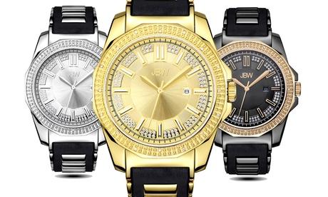 Reloj JBW Regal con diamantes para hombre