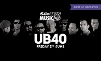 One Child or Adult Ticket to UB40 at Bath Racecourse on 2 June
