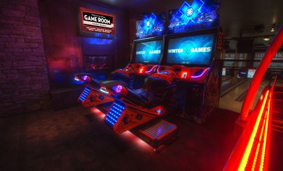 55% Off Arcade and Game Room at Grand Central Bowling Lounge