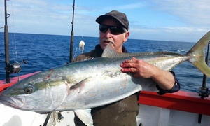 Pete Lamb Fishing: $49 for a Four-Hour Harbour Fishing Trip or $59 with Rod, Bait and Tackle with Pete Lamb Fishing (From $100 Value)