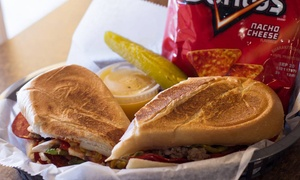 Paninis And Such: Paninis, Breakfast Fare, or Catering from Paninis and Such (Up to 43% Off)