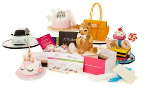 3D Cakes: Choice of 2.5 Hour or Full Day Cake Masterclass Gift Pack for one or two at 3D Cakes