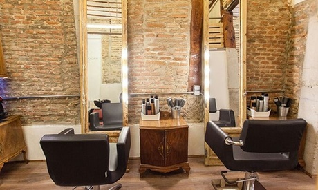 Peluquería con asesoramiento de imagen, peinado, corte, hidratación con oro fluido y tinte desde 19,95€ en Sergio Motera