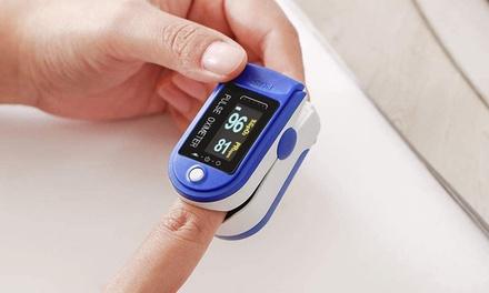 1 ou 2 oxymètres de pouls et moniteurs de fréquence cardiaque et de saturation en oxygène