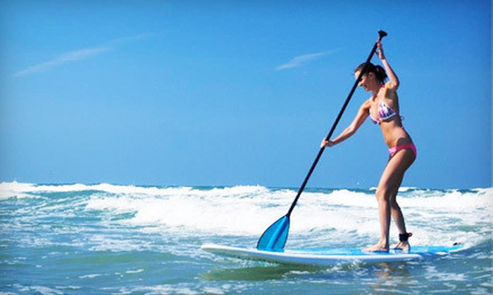 Maui B's Paddle Boarding - Orlando: Introductory Paddleboard Lesson for One, Two, or Four from Maui B's Paddle Boarding (Up to 58% Off)
