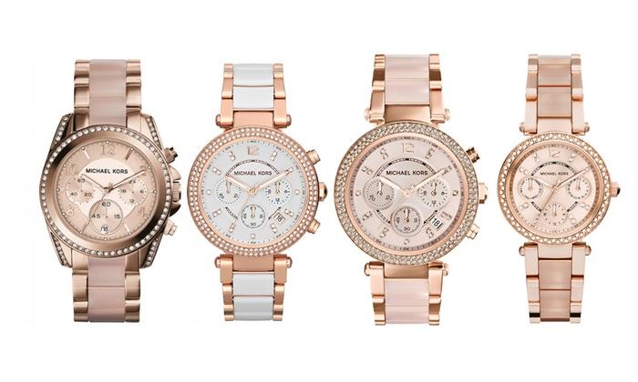 Michael Kors horloge voor dames   Groupon