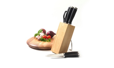 Salter Elegance Chefs Knife Block from AED 89